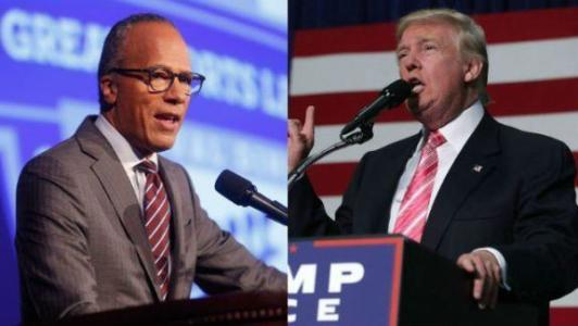 NBC Crank Lester Holt Interrupted Trump 41 times, Hillary 7 Times …And Lied About His Positions