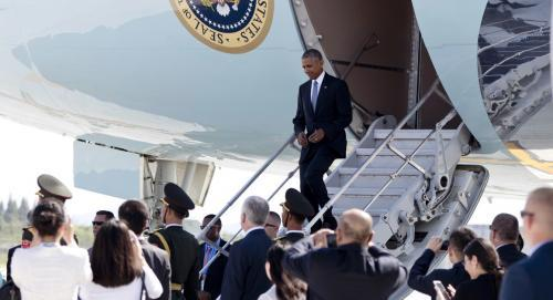 CHINESE AND U.S. DIPLOMATIC ALTERCATION UPON OBAMA'S ARRIVAL IN CHINA