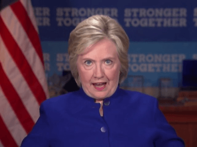 Bizarre Video–Hillary Shouts at Camera: 'Why Aren't I 50 Pts Ahead'?