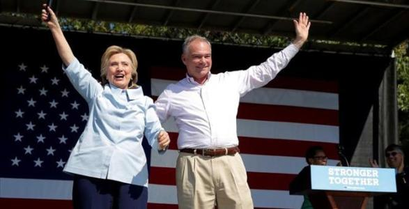 VIDEO: Tim Kaine Didn't Have the Greatest Things to Say About Hillary in 2005