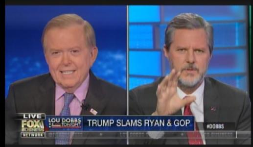 Jerry Falwell Jr.: GOP Elites Are Meeting Regularly – Plotting To Take Down Trump Before Election (VIDEO)