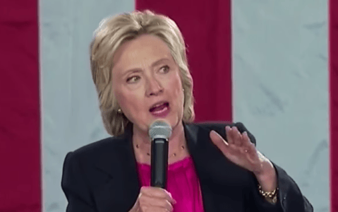 HILLARY: IT'S NOT MOTHER NATURE, BLAME MANKIND – VIDEO
