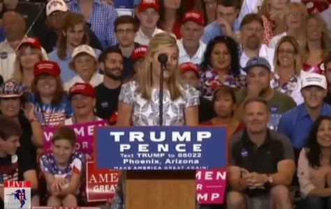 13 Year-Old Girl At Trump Rally: If Donald Had A Brick For Every Hillary Lie, He Could Build TWO WALLS (VIDEO)