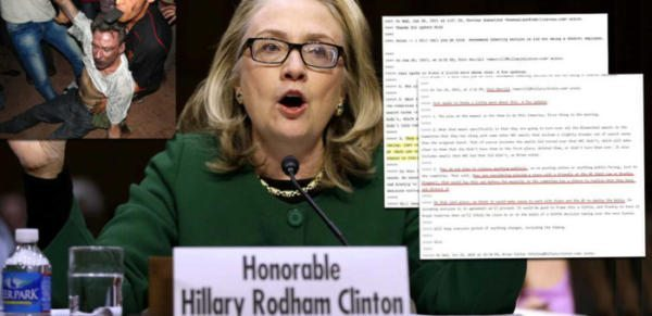 WiKiLeaks: Leaked Email Reveals Hillary Clinton's Benghazi Cover-Up, FEDERAL CRIMES!