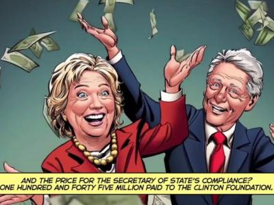 'Clinton Cash: A Graphic Novel' Ad Shows How Hillary Helped Transfer U.S. Uranium to Russia