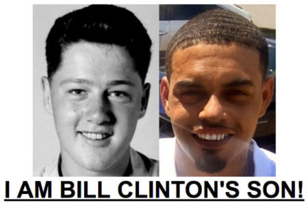 This Man Claims To Be Bill Clinton's Son