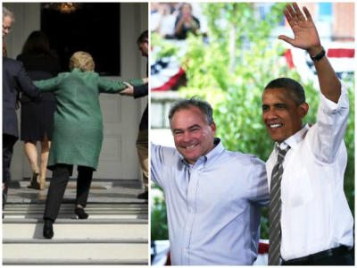 Ed Klein: Obama 'Well Aware of Hillary Clinton's Health Issues'- Kaine His 'Mole, Manchurian Candidate'