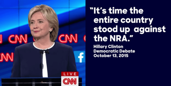 Leaked Hillary Clinton Audio: 'We've Got to Go After' Supreme Court on Second Amendment