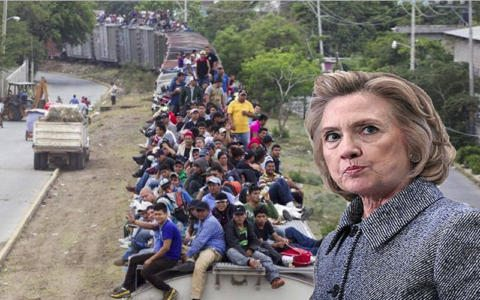 "Clinton Wants ""Open Borders"""
