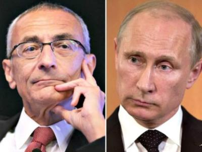CROOKS: Clinton Campaign Chief Owned 75,000 Shares of Putin-Connected Energy Company