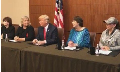 BREAKING: TRUMP APPEARS WITH BILL CLINTON RAPE AND AB– USE VICTIMS BEFORE DEBATE