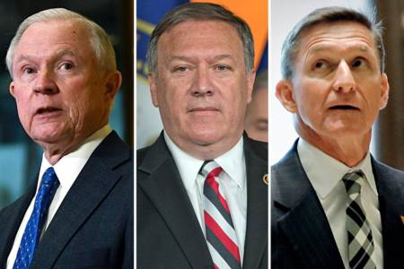 TRUMP Announces National Security Team: Lt. Gen. Mike Flynn-NSA, Sen. Sessions as AG, Rep. Pompeo to Head CIA