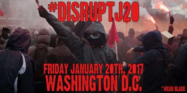 #DisruptJ20: Anarchists gear up to incite riots during president-elect Trump's inauguration (video)