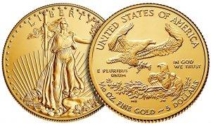Gold Dealer Donates American Gold Eagle Coins To Supreme Court Justice Ginsburg as she Prepares to Flee the USA due to Trump's Election