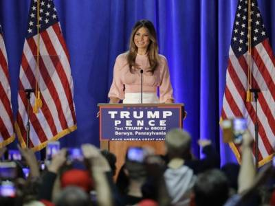 Melania Trump: 'Make America Great Again Is Not Just Some Slogan' – VIDEO
