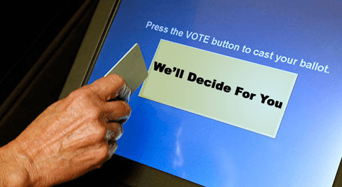 Louisiana Voting Machine Logged Votes Before Poll Opened