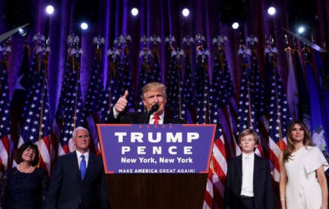 Shock — and Awesome: Movement of Ordinary Americans Stun Global Elite  **Trump Elected 45th President**