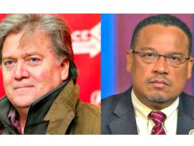 Networks Slam Stephen K. Bannon, Ignore Democrat Keith Ellison's Radicalism