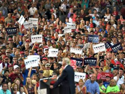 Trump Rally Raleigh: 'You have one magnificent chance to change a corrupt system'
