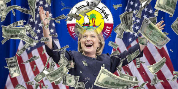 Reuters: Hillary Hid $1 Million Gift From Qatar From State Dept., Lied About It Only A Month Ago