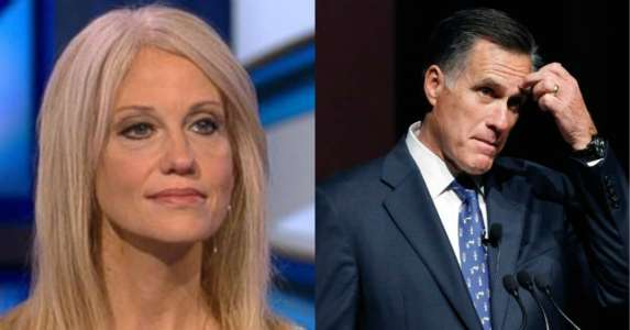 Kellyanne Conway Hints That Romney Is Further Away From Becoming Trump's Sec. Of State