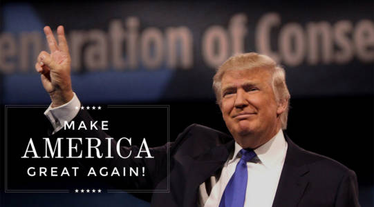 DONALD TRUMP IS THE NEXT PRESIDENT OF THE UNITED STATES!!