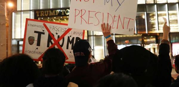 The Left's Ridiculous Response to Trump Election Is Why He Was Elected