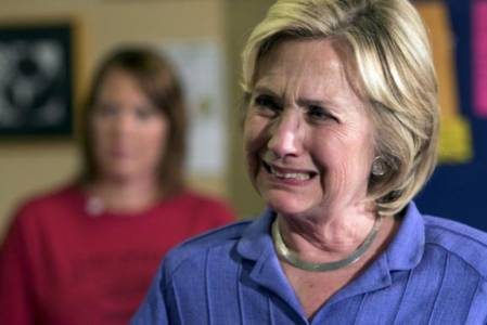 Hillary Clinton's Five Stages of Grief