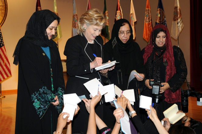 Huma Abedin's mom linked to shocking anti-women book