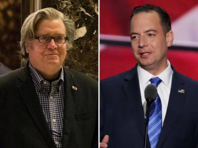 Trump Names Steve Bannon as White House Chief Strategist and Reince Priebus as Chief of Staff
