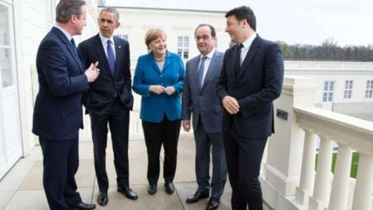 What a difference 2016 makes: Viral pic shows doomed Western leaders together
