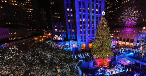 BREAKING: Man Arrested at Rockefeller Center Christmas Tree with Lighter, Gasoline and Hamas Book