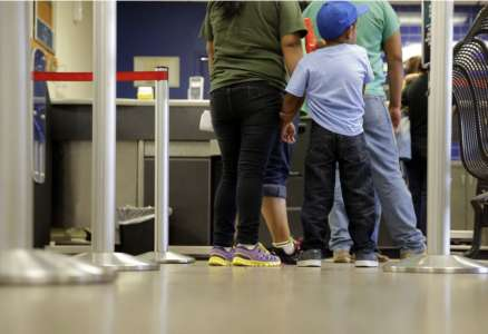 Illegal migration hits new high in November as families surge across border