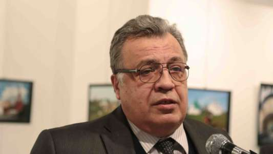 BREAKING: Russian ambassador to Turkey shot dead by gunman yelling 'Allahu Akbar'