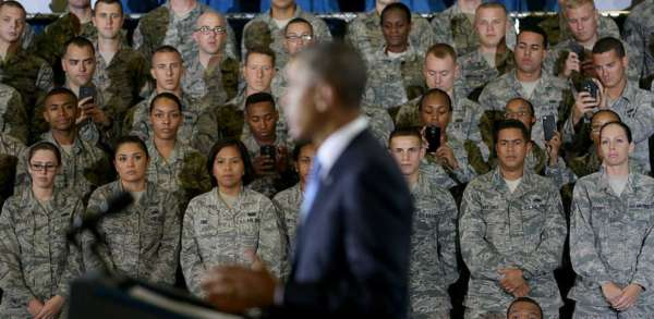 Obama Says No Foreign-Planned Terror Attacks on U.S. in 8 Years. WATCH How Soldiers Respond.