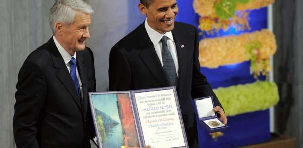 Obama's Press Secretary Just Said Obama Deserved The Nobel Prize. Here Are 9 Reasons He's Wrong.
