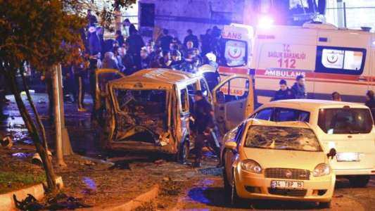 At least 20 hurt in BOMBING at Istanbul stadium