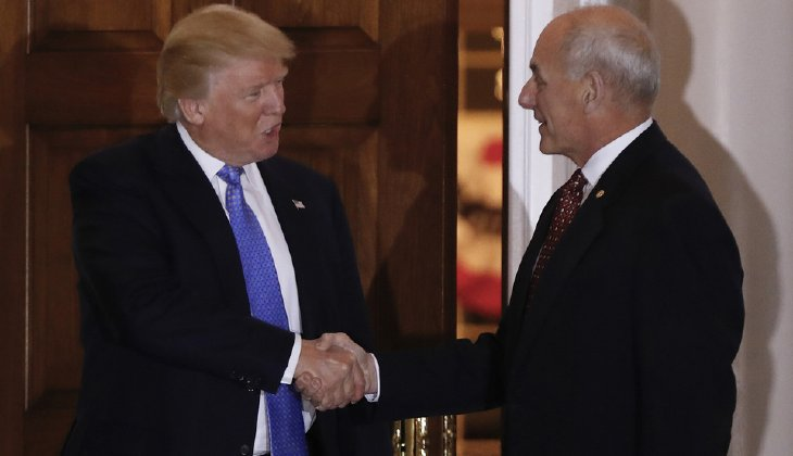 President-elect Trump's reported selection of retired Marine Gen. John Kelly to be secretary of homeland security brings the number of former generals on his national security team to three. (AP Photo/Carolyn Kaster)
