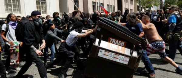 The Left's Embrace Of Political Violence Backfires In Berkeley.