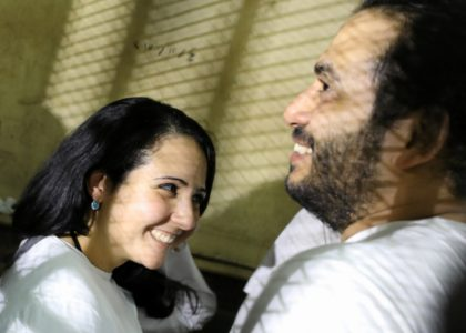 Freed Egyptian American prisoner returns home following Trump intervention.