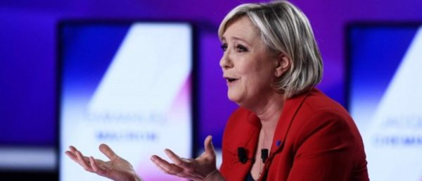 Exit Polls: Le Pen, Macron Move On To Run-Off Election In France.
