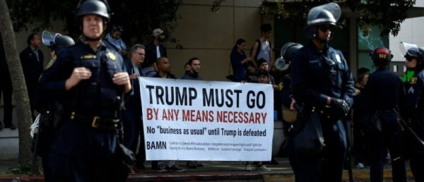 Red Terror:  Violent Leftist Group Plans To 'Shut Down' Berkeley March Against Marxism