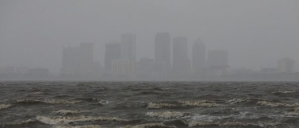 Hurricane Irma Arrives And Leaves Downtown Miami Submerged Under Water