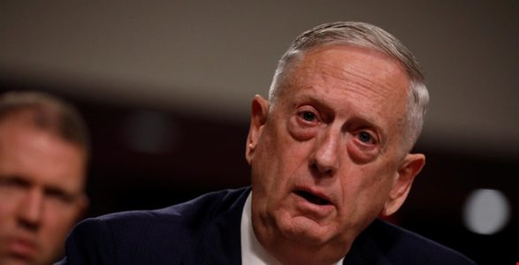 Mattis Warns Army: 'Stand Ready'