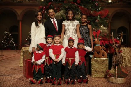Former President Obama's 2017 Christmas Greeting is Noticeably Disturbing