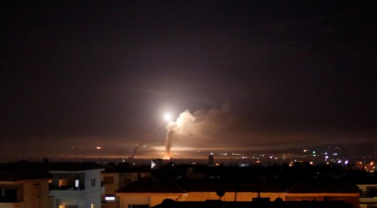 Israel strikes dozens of Iranian targets in Syria.