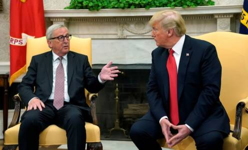 Wall Street celebrates Trump trade deal with EU.