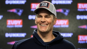Tom Brady reports to Buccaneers facility for first time