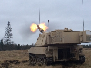 How did the Army double the range of artillery attack?