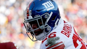 Giants hope Saquon Barkley can buck running back payday trend